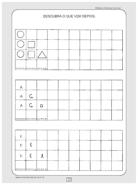 atividades de matematica sequencias