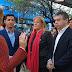 Los candidatos de #1País Stolbizer, Tombolini y Abrevaya salen a la calle
