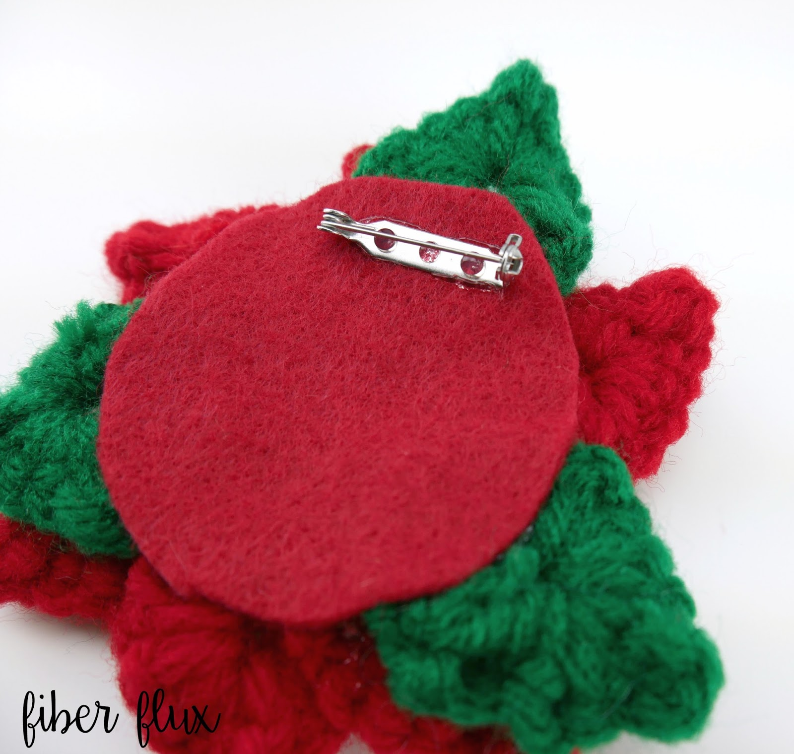 Fiber Flux Free Crochet Pattern Crochet Holiday Poinsettia