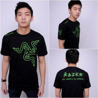 Kaos Gaming - Tshirt Razer V3
