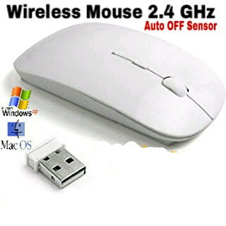 mouse senza fili slim 2.4 ghz maxexcell