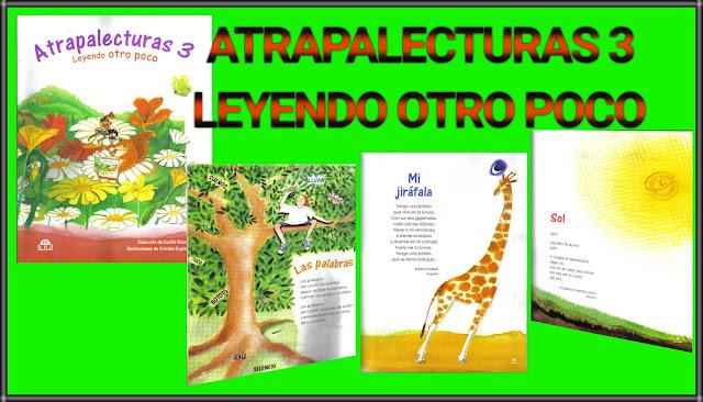 ATRAPALECTURAS 3-LEYENDO OTRO POCO