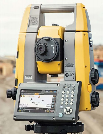 Topcon GT Series Robotic Toatal Station