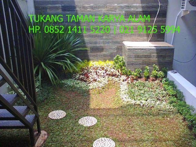 contoh taman rumah halaman belakang taman minimalis