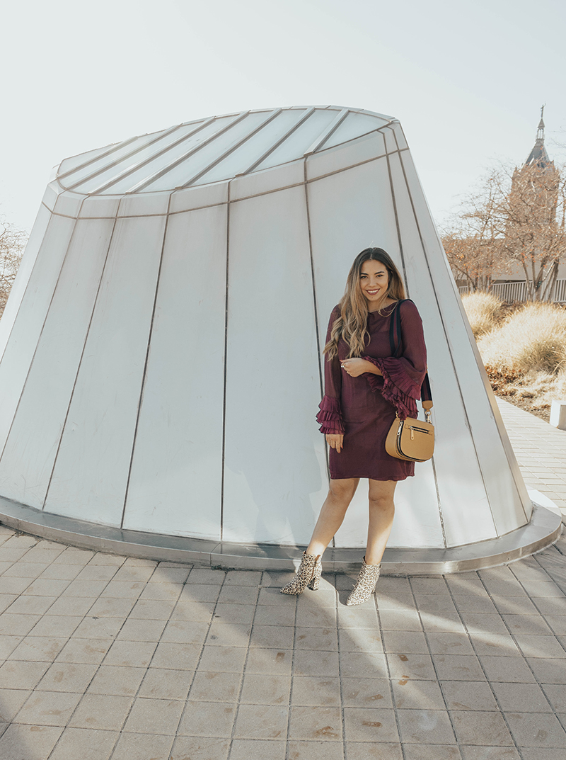 holiday dress guide, trendspin link up, salt lake city library