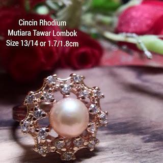 Model Cincin Mutiara Lombok Terbaru