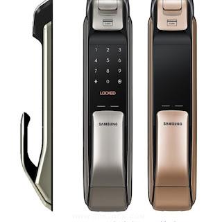 Yên tâm hoàn toàn với khóa điện tử vân tay Samsung