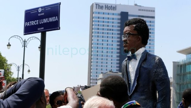 Belgium named a square after African independence hero