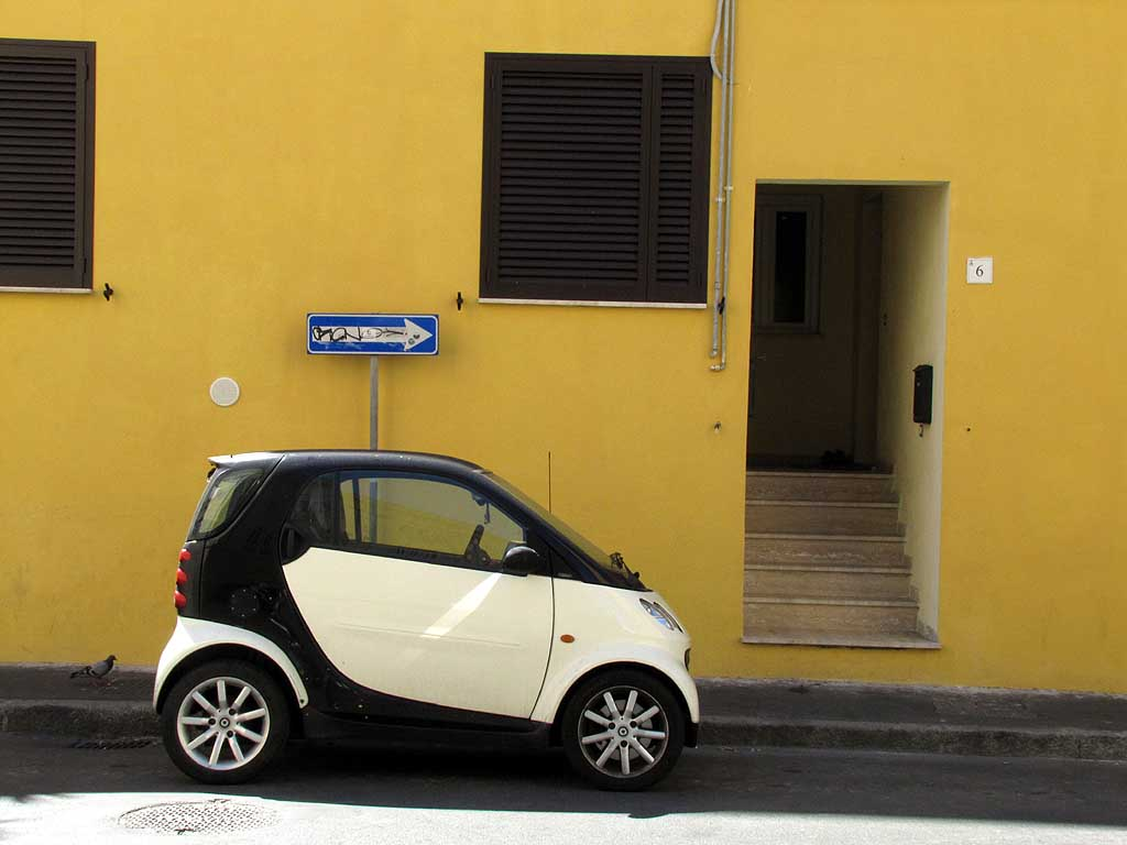Parked Smart, via Fagiuoli, Livorno