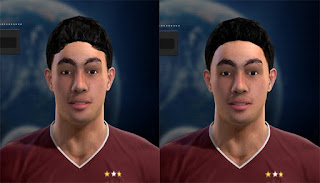 Face Miguel Almiron 2016 Pes 2013 By Vicen