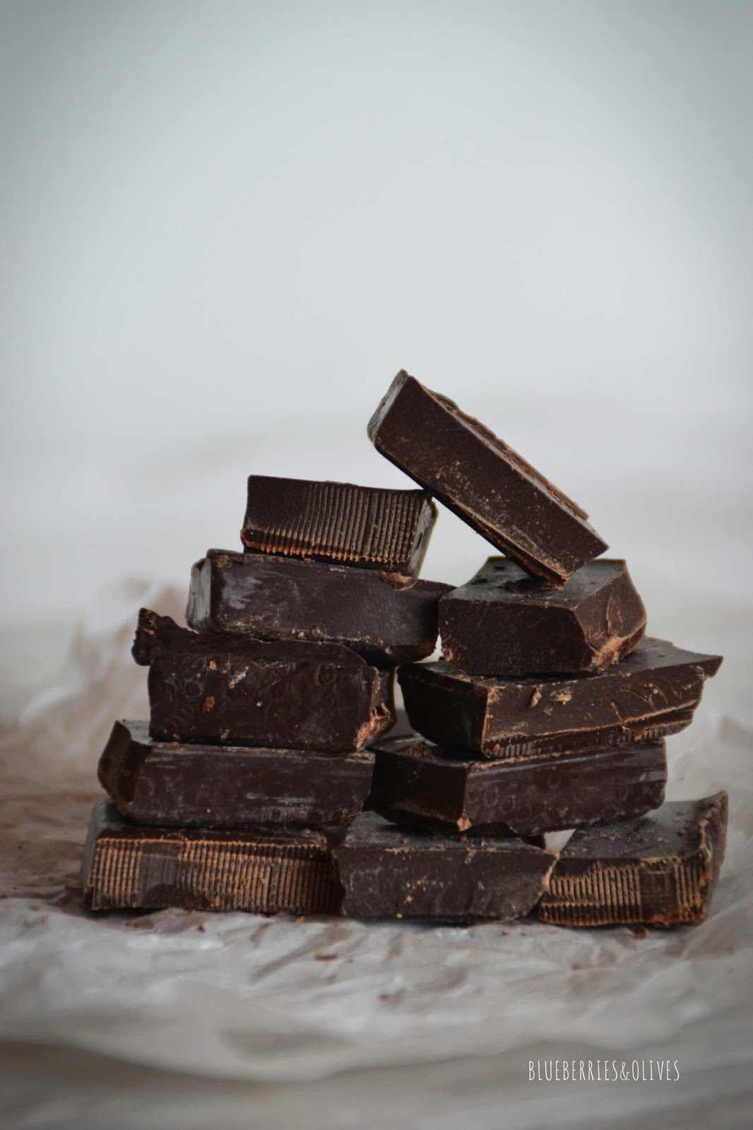 CHOCOLATE - SWEET AND SALTY CHOCOLATE SQUARES