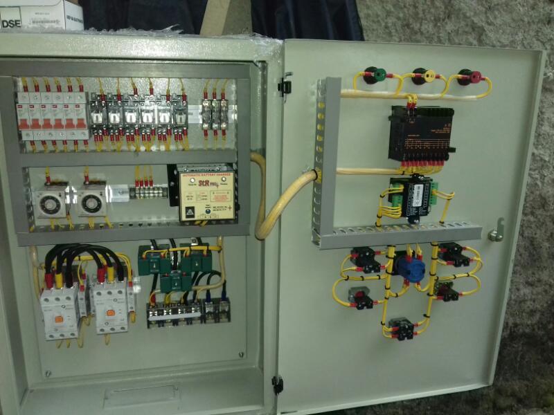 Wiring Diagram Panel Kontrol : Panel genset otomatis service