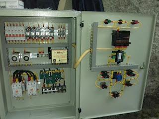 melayani service dan pembuatan panel otomatis genset