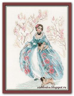 1723 «Рококо. Прогулка» Riolis
