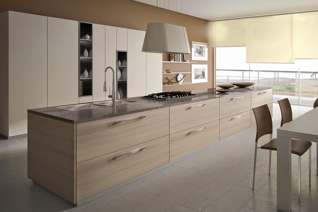 50 ideas de c mo combinar los colores en la cocina - Muebles marrones de que color pinto las paredes ...