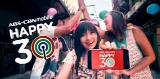 ABS CBN Mobile 5FOR30 Unli Internet and iWanTV Promo