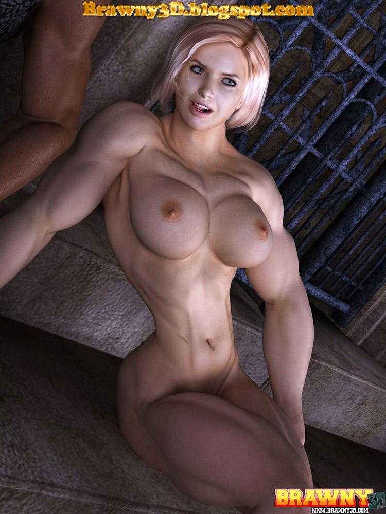Muscle Women Sucking Dick Porn