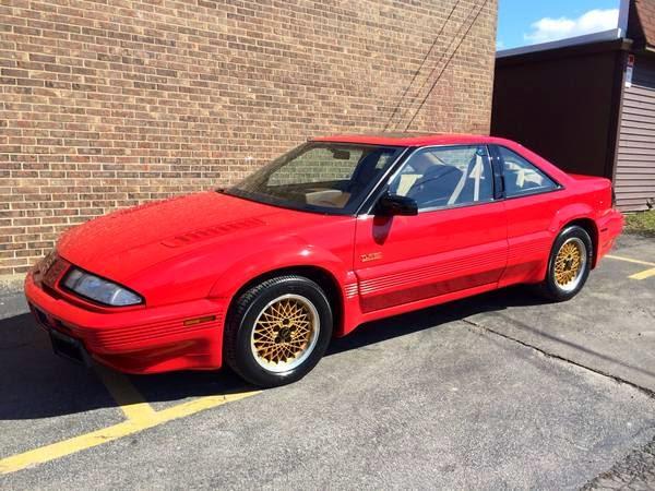Rare 1990 Pontiac Grand Prix Asc Mclaren Turbo Auto