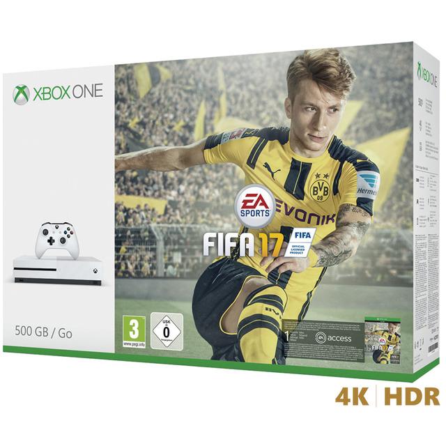Consigue una Xbox One S con tres o cuatro juegos a 279 euros o 349 euros