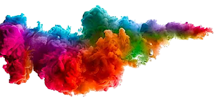 holi colors png download