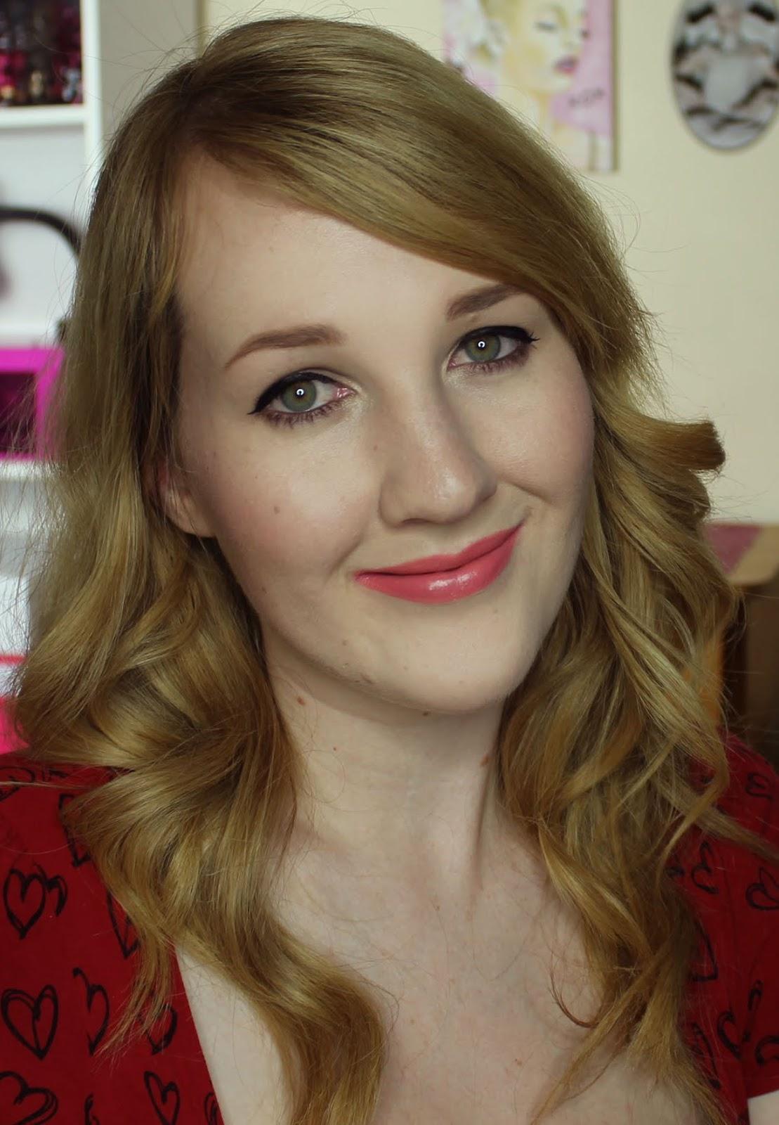 Jordana Lipsticks - Pink Lemonade Swatches & Review