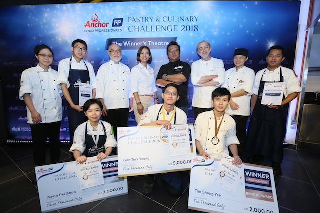 Anchor Food Professionals Pastry & Culinary Challenge 2018 @ KDU University College