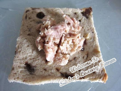 tuna lunch box teddy sandwich recipe