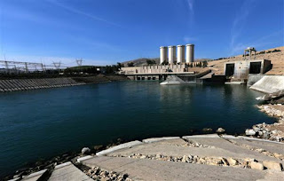 Tigris river dry