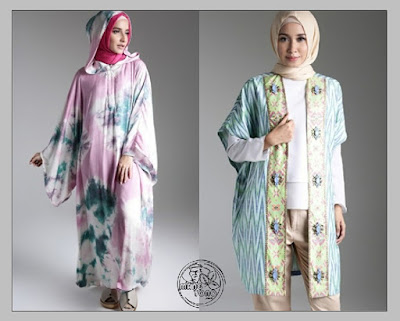 Tren Busana Muslim Lebaran. Tie Dye Dian Pelangi