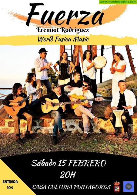 """Concierto """"FUERZA"""" de Eremiot Rodríguez en Puntagorda"""