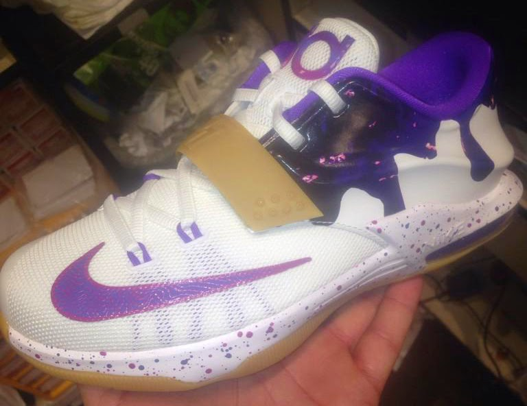 new style f76d3 54ced ... clearance nike kd 7 gs peanut butter and jelly white hyper grape  fuchsia force team orange