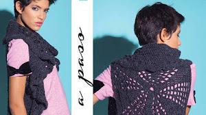 Chaleco Crochet con base redonda / Paso a paso