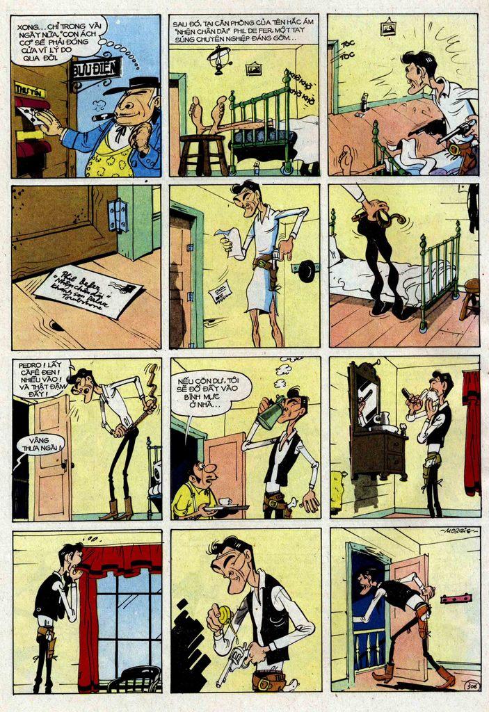 Lucky Luke tập 25 - nhện chân dài trang 6