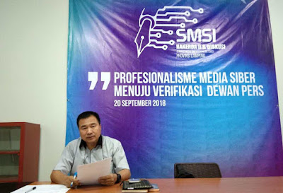 Ketua SMSI Lampung Protes Bandar Lampung Disebut Kota Terkotor
