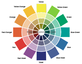 Once Youre Familiar With The 12 Color Wheel Made Up Of Primary Secondary And Tertiary Colors You Can Begin To Experiment Optional Schemes