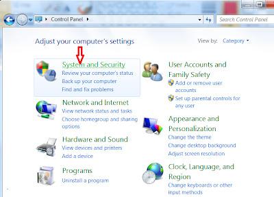 Configure Firewall in Windows 7