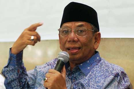 KH. Hasyim Muzadi:  Paham Islam Aswaja  Jamin Keutuhan NKRI