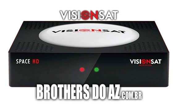 Visionsat Space HD Atualização V1.70 - 27/10/2020