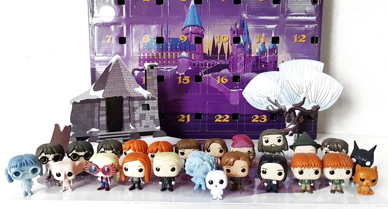 Calendrier De Lavent Harry Potter Funko Pop.Bilan Calendriers De L Avent 2018 Br Harry Potter