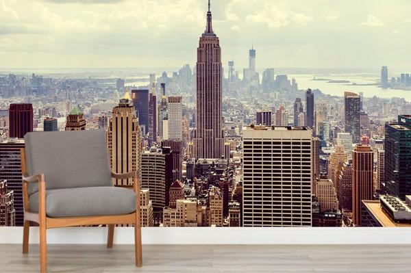 New York Valokuvatapetti Manhattan Skyline