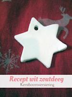 Recept wit zoutdeeg - kerstboomversiering