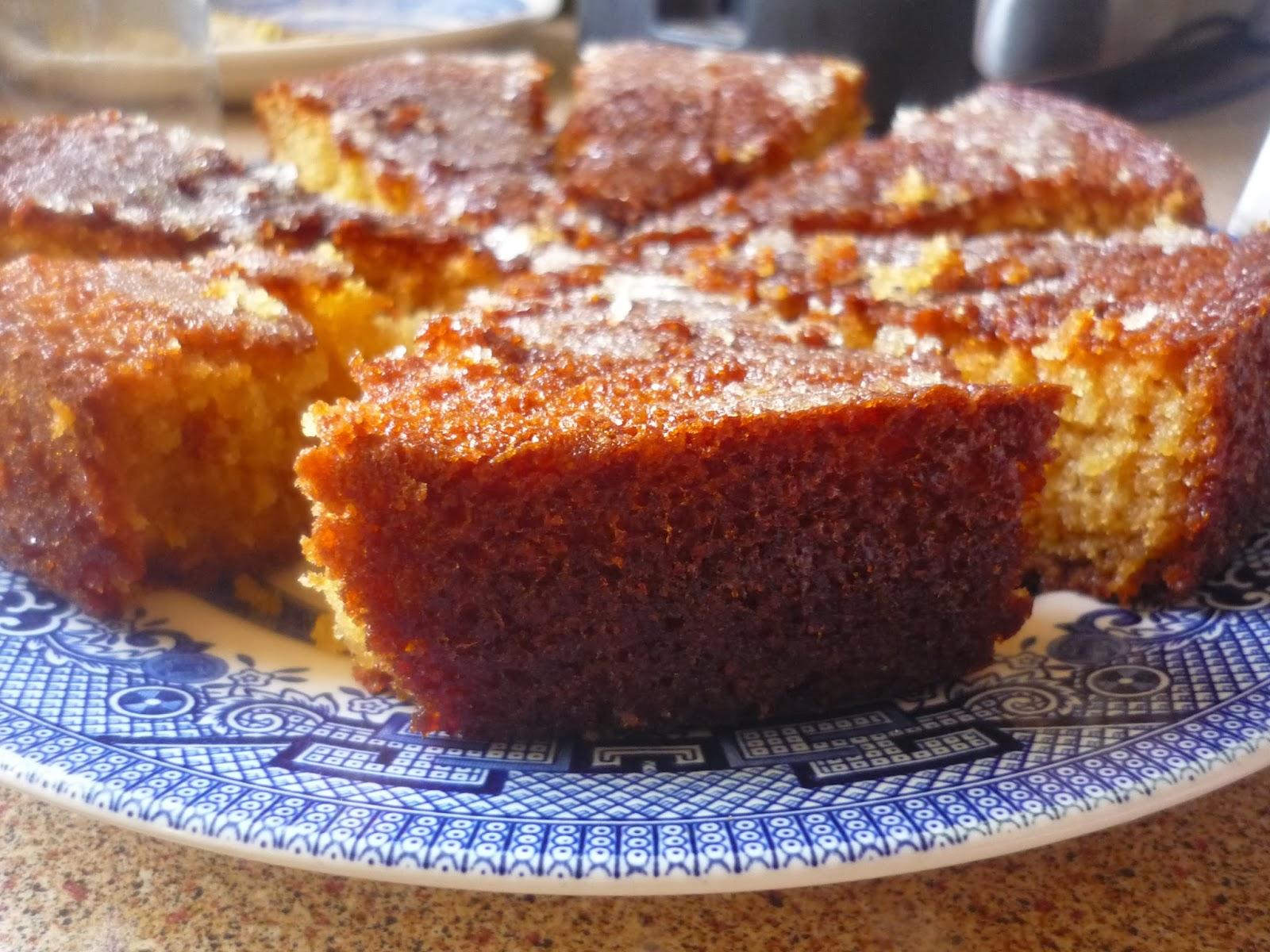 Fruit Cake With Orange Marmalade