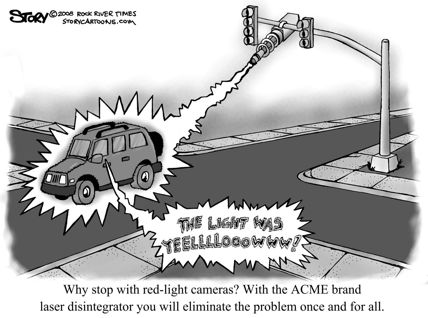 Daniel S Bridger Trucking Blog Florida Red Light Camera