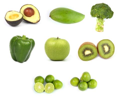 green fruit list