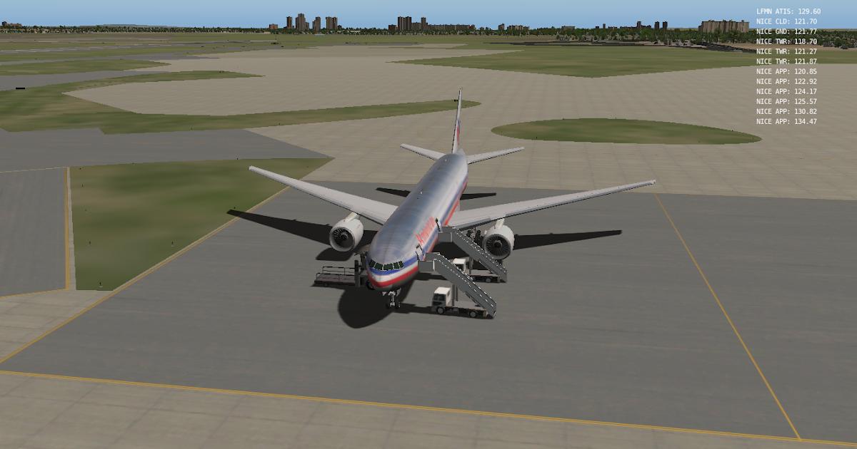 Xplane 10 Boeing 777