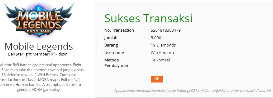 Cara Beli Diamond Mobile Legend Pakai Pulsa Murah Mulai 5 Ribu Di