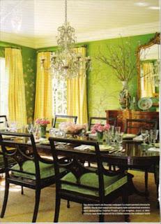 ruang+makan+hijau+mewah Desain Ruang Makan Hijau Ciptakan Nuansa Alami