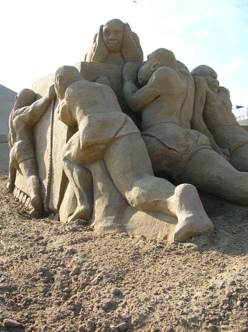 18 Creative Sand Art Icreatived