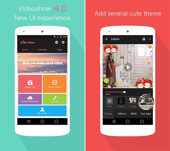 تطبيق التعديل على الفيديو للأندرويد VideoShow Pro Video Editor & Maker 8.0.2rc
