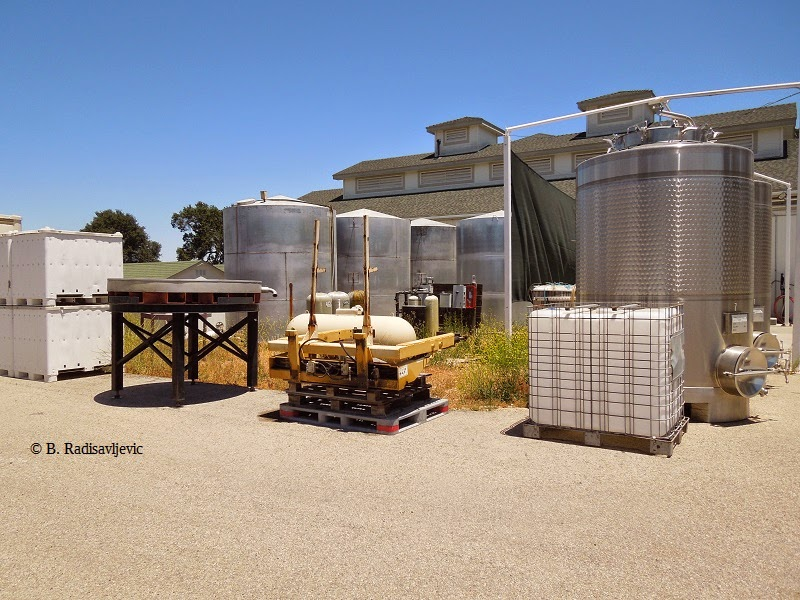 Wine Making Equipment at Summerwood, June 17, 2014, © B. Radisavljevic